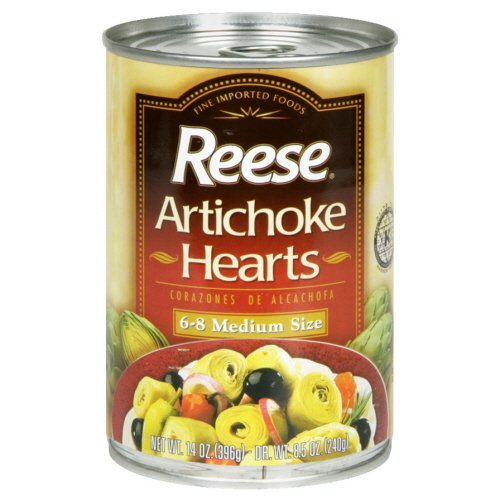 Artichoke Hearts 6-8 Ct (Pack of 12) by Reese (Image #1)