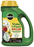 Miracle-Gro Shake'N Feed All Purpose Plant Food, 4.5 lbs, Covers up to 180 sq. ft.