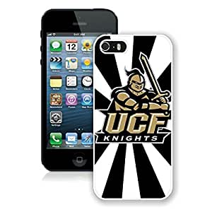 NCAA American Athletic Conference AAC Football UCF Knights White Case For Iphone 6 4.7 Inch Cover Genuine Custom Cover