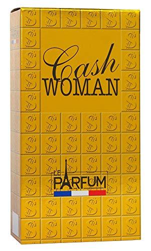 Le Parfum de France Cash Woman Eau de Toilette för kvinnor, 75 ml
