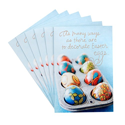 Hallmark Pack of Easter Cards, Sweet Blessings (6 Cards with Envelopes)