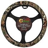 Mossy Oak Camo Neoprene Steering Wheel Cover - Mossy Oak Break-Up