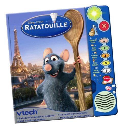 Amazon Fr Ratatouille Livre Interactif Vtech Disney