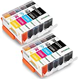 FreeSUB Replacement for Canon PGI 225XL CLI 226XL High Yield Ink Cartridges 2Set Compatible for Canon Pixma MX892 MX882 MX712 MG5320 MG5220 MG6220 MG8220 MG6120 MG6110 MG5210 IX6520 IP4820 MG8120