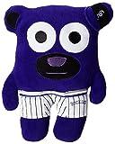 MLB Colorado Rockies Bear In Underwear Plush Toy, Purple, Small