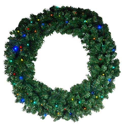 60 Wreath With Led Lights in US - 6