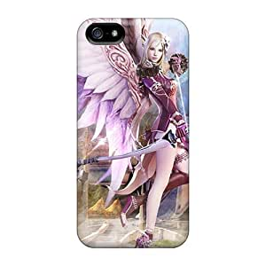 New Style MeSusges Hard Case Cover For Iphone 5/5s- Aion Fantasy Cg Archer Girl by icecream design