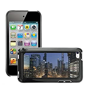 Super Stella Slim PC Hard Case Cover Skin Armor Shell Protection // M00421644 Chicago Sears Tower Willis Tower // Apple ipod Touch 4 4G 4th