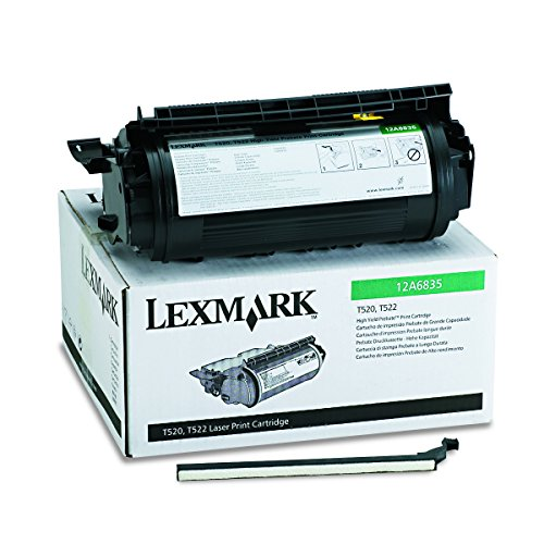 LEX12A6835 - Lexmark 12A6835 High-Yield Toner (12a6835 Toner Cartridge Laser)