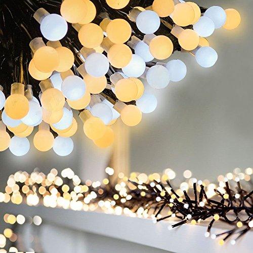 LED Globe String Lights 9.8 ft 400 LEDs Waterpr...