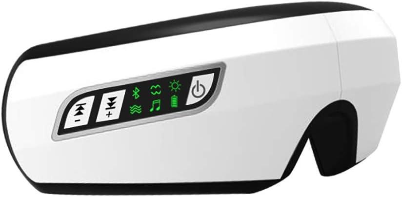 Masajeador Facial Y De Ojos (Modelo 2019) - MáScara Ocular Y De Cabeza/Gafas De Masaje Electricas Plegables Con Vibromasaje