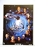 Star Trek Deep Space Nine DS9 Cast 12 x 16 Inches Lithograph / Poster