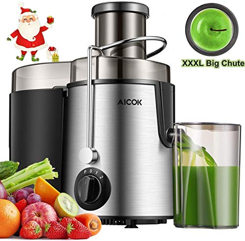 """Juicer Centrifugal Juicer Machine Wide 3"""" Feed Chute Juice Extractor"""