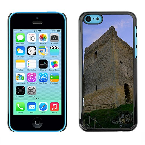 Premio Sottile Slim Cassa Custodia Case Cover Shell // F00028968 Ruines du château // Apple iPhone 5C