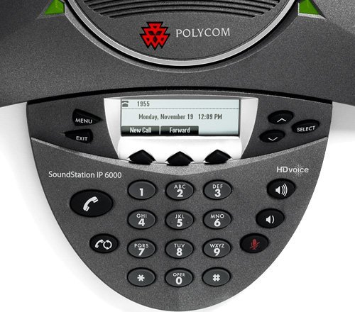 Polycom Soundstation IP 6000 Conference Phone (No PSU)