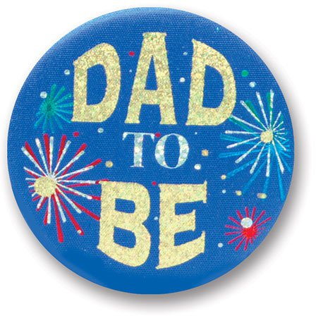 Dad Satin Button Party Accessory product image