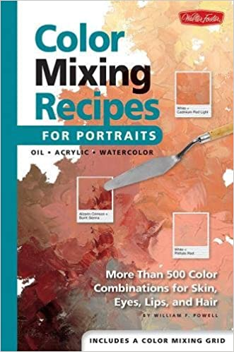 Color Mixing Recipes for Portraits More than 500 Color