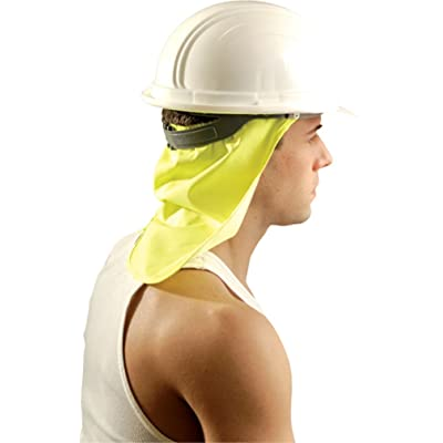 24PCK-Neck Shade - Reduce Sun Stress on Back of Neck - HIVISYELLOW