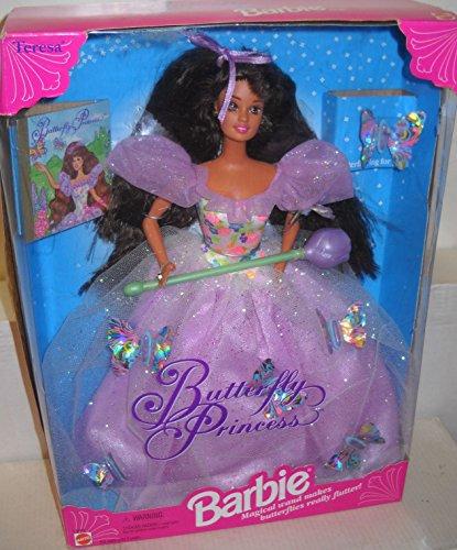 Mattel Barbie Butterfly Princess Teresa Doll (Fashion Doll 1994)