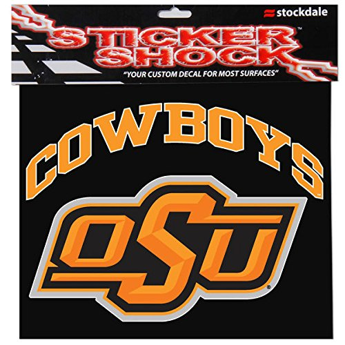 Image of Auto Accessories Oklahoma State University S93900 Window Decals