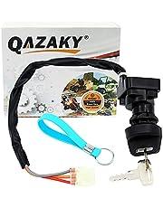 QAZAKY Compatible with Ignition Key Switch Suzuki ATV LTF250 LT-F250 LTZ250 LT-Z250 LTZ400 LT-Z400 LTZ400Z LT-Z400Z LTA500F LT-A500F LTF500F Ozark Quadsport Quadmaster Quadrunner 250 Z250 Z400 500