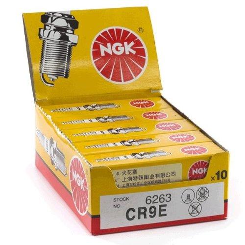 (10x NGK CR9E Spark Plugs (6263) (NGK6263X10))