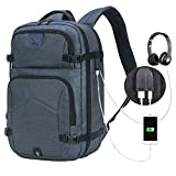 Laptop Backpack, Pokarla Anti-Theft Business Slim Computer Bag with USB Charging Port