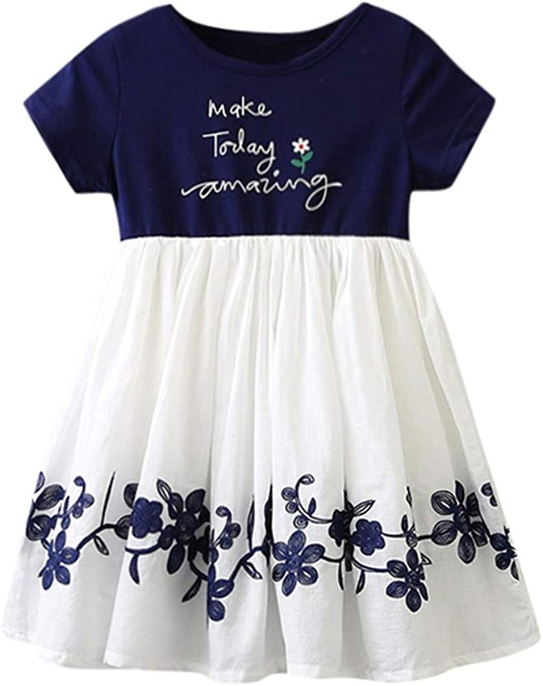 AIDEAONE Toddler Baby Girls 3pcs Outfits Adjustable Suspender Skirt Sets Girls Christmas Dress Set 1-5T