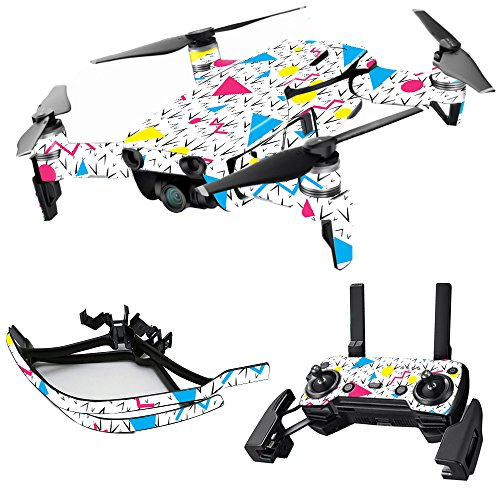 MightySkins Skin for DJI Max Coverage - 90s Fun | Protective, Durable, and Unique Vinyl Decal wrap Cover | Easy to Apply, Remove, and Change Styles | Made in The USA