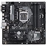 ASUS Prime H370M-Plus/CSM LGA1151 (300 Series) DDR4 HDMI DVI VGA M.2 mATX Motherboard (PRIME H370M-PLUS)
