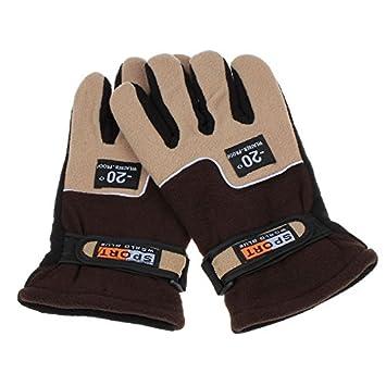 Windproof  Men Thermal Winter Warm Gloves  Motorcycle Ski Snow Snowboard Mittens
