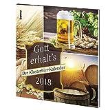 Gott erhalt's: Der Klosterbier-Kalender 2018