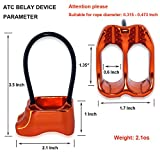 GYDING Professional Rescue ATC Guide Belay Device 25KN...