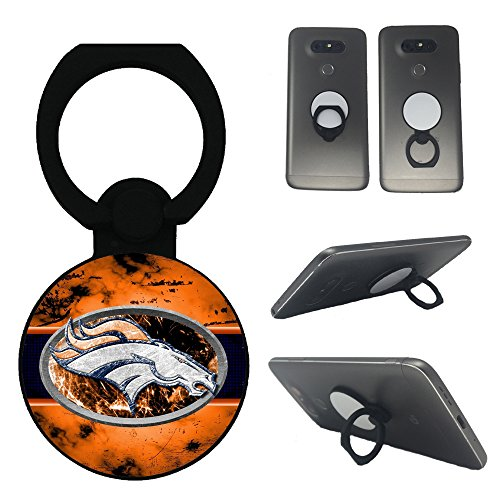 Custom design broncos Multi Fundction phone holder stand ring type/mobile mount/for all smartphone and tablets ()