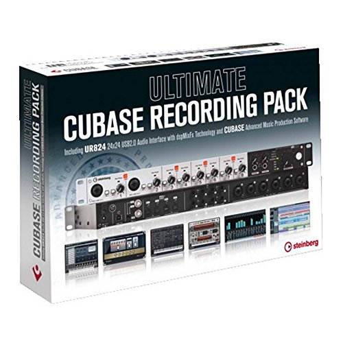 Steinberg Ultimate Cubase Recording Pack - Cubase Pro8+UR824