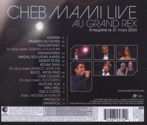 Live Au Grand Rex 2004 by Emi France