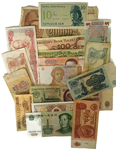 1 set of 4 diff. China 1960's paper money Au-Unc. reproductions ()