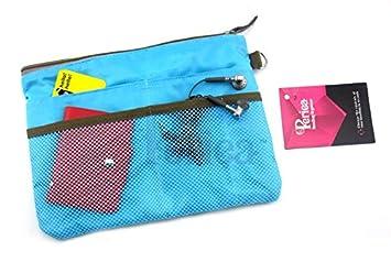 13 Bolsillos Forro Color: Azul A21.5 x L28.5 x P2cm Periea Jane Inserto Organizador De Bolso De Mano