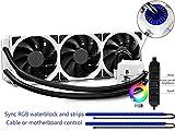 Best Cpu Water Coolers - DEEPCOOL Captain 360EX RGB White, AIO Liquid CPU Review