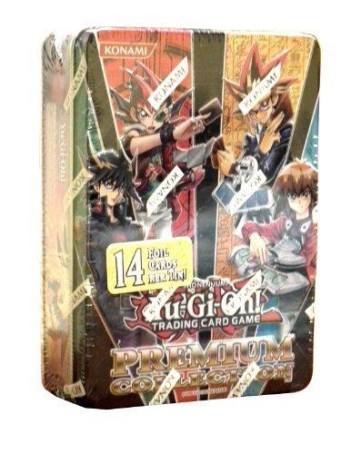 Yu-Gi-Oh! 2012 Premium Collection Tin (14 Foil Cards!) (Collector Tin Acid)