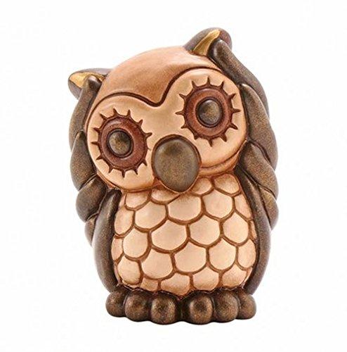 Thun® - Gufetto Non Sento Piccolo - Animali da Soprammobile da Collezione - Ceramica - I Classici