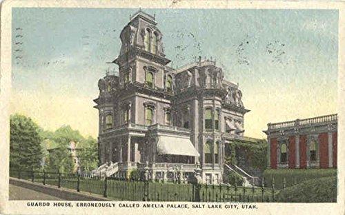 Guardo House, Erroneously Called Amelia Palace Salt Lake City, Utah Original Vintage Postcard