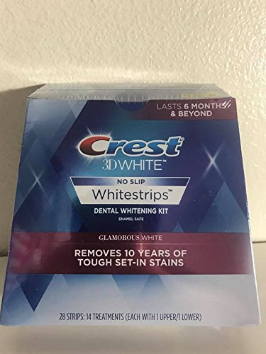 Crest 3D Whitestrips Glamorous White 28 Strips - 14 Treatments