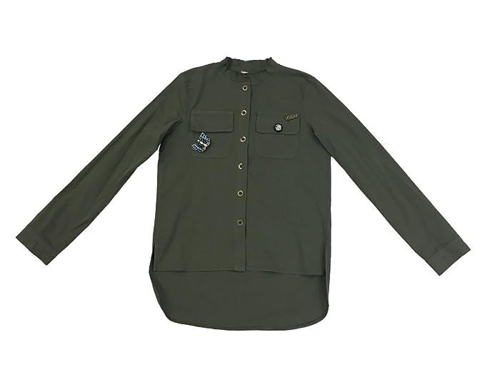 Coreana Donna Militare Alla Collo Camicia stdhQxCr