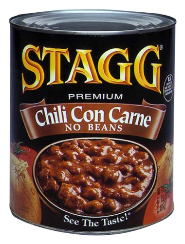 STAGG Chili, Con Carne No Beans,108 Ounce