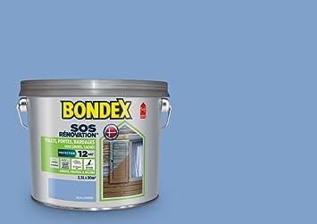 Sos Rénovation Volets Bondex Bleu Lavande Satin 25l Amazonfr