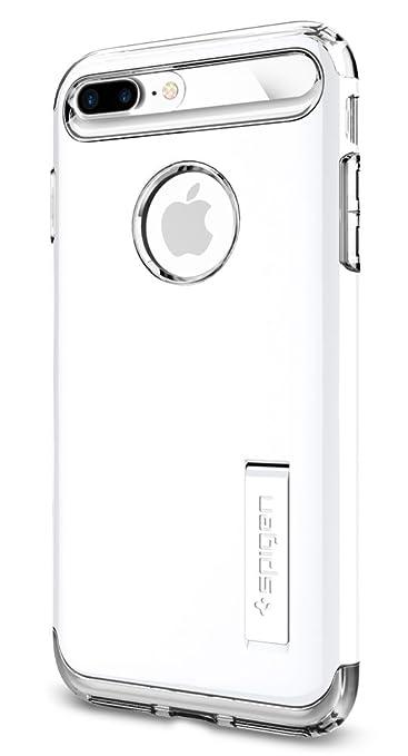 68 opinioni per Cover iPhone 7 Plus, Spigen® Custodia [Slim Armor] Tecnologia cuscino d'aria e