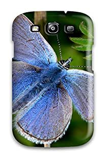 Cute Appearance Cover/tpu TrbLcIx2048EkKey Butterfly Case For Galaxy S3