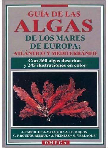 Guía de las algas del Atlántico y Mediterráneo.