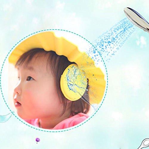 Westeng 1pi/èce pour b/éb/é enfants Enfants Toddler Safe Shampooing Bain//Douche r/églable doux Chapeau protection